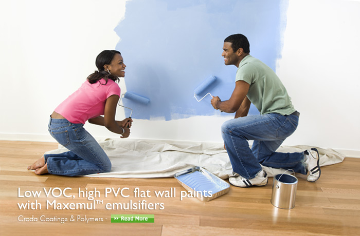 high pvc flat wall paints with maximul emulsifiers croda coatings and polymers