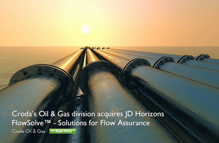 Croda's oil & gas division acquires JD Horizons FlowSolve solutions for Flow Assurance