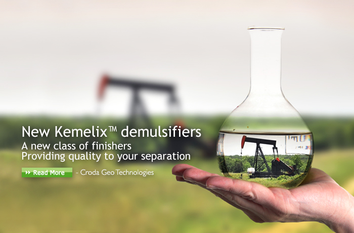 New Kemelix™ demulsifiers  a  new class of finishers  providing quality to your seperation