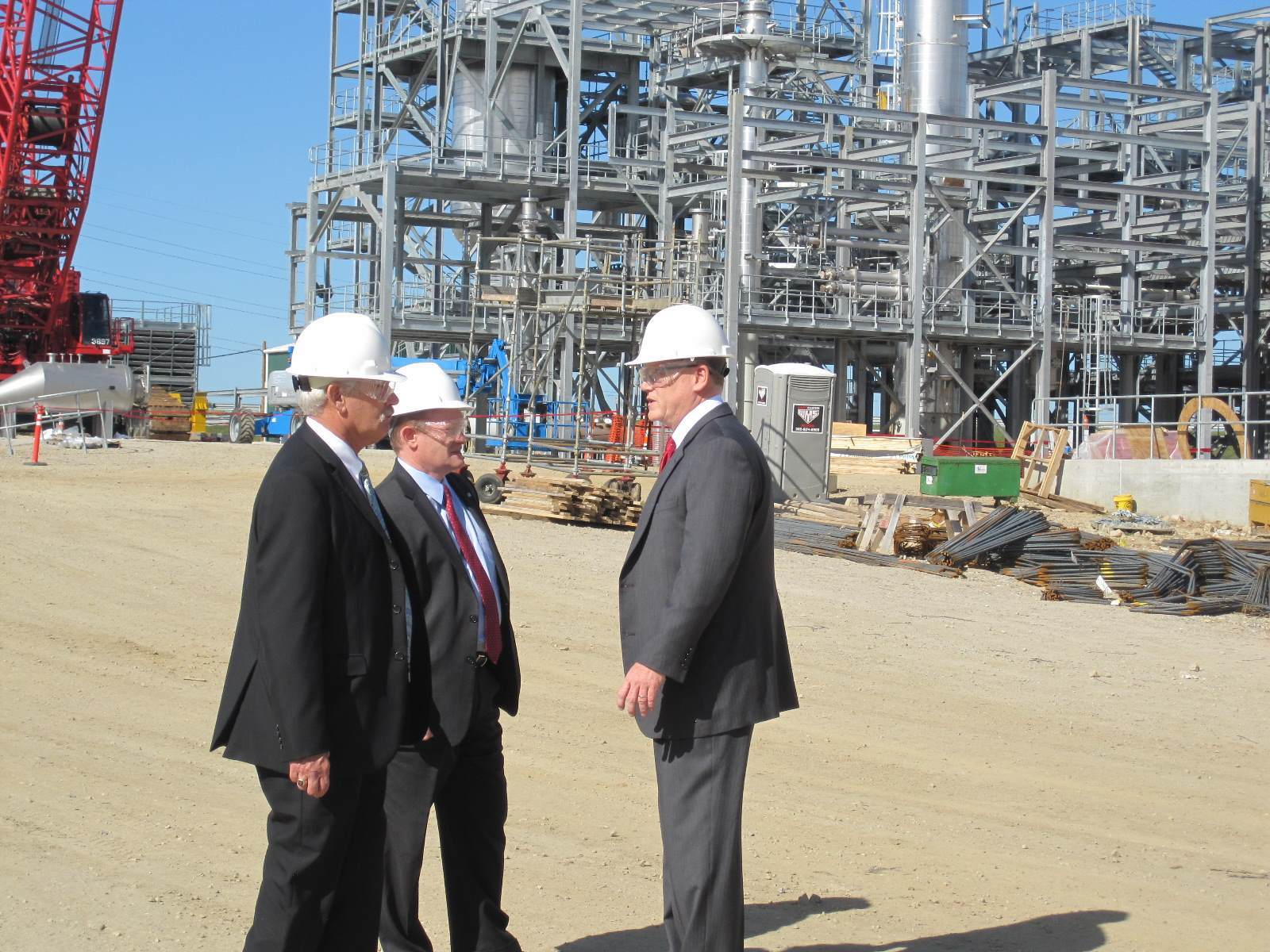US senate visit to Crodas Atlas Point new manufacturing site