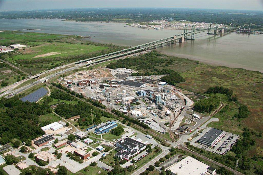 Croda US manufacturing site at Atlas Point, Delaware