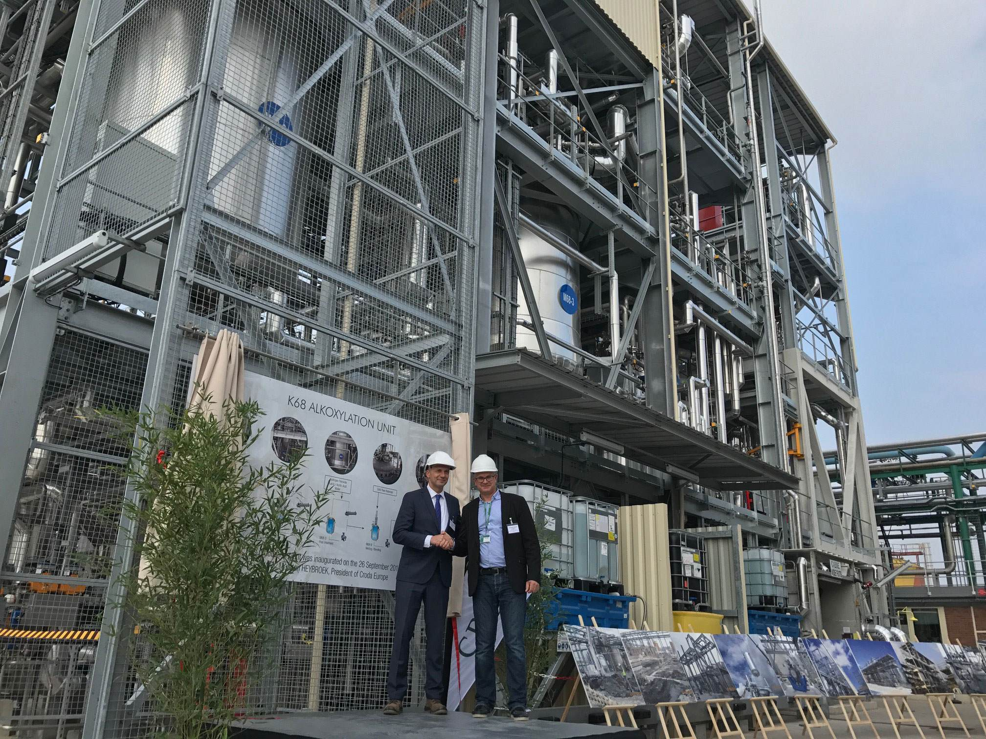 Croda's K68 Alkoxylation Manufacturing Site at Chocques, France