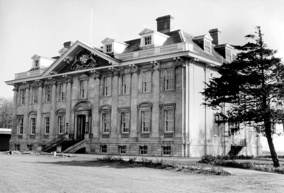 Historic picture of Cowick Hall, Croda's Headquarters